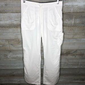 Grey's Anatomy Barco white nurse scrub pants